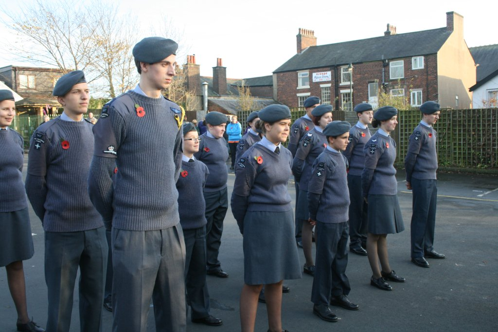 how to help out with air cadet squadron