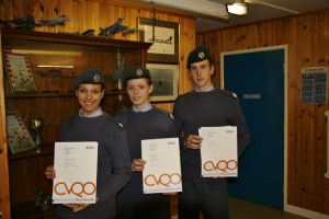 Cadets Awarded BTEC